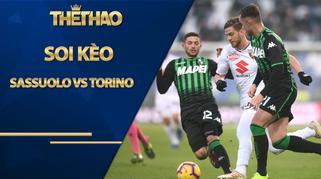 Soi kèo Sassuolo vs Torino, 01h45 ngày 24/10, VĐQG Italia