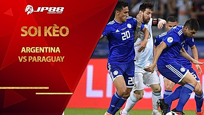 Soi kèo Argentina vs Paraguay, 07h00 ngày 13/11, Vòng loại World Cup