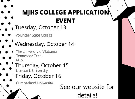 MJHS College Application Event