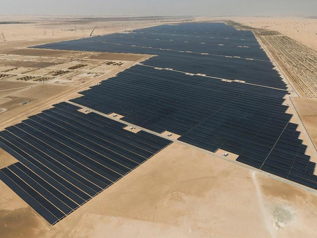 Emiratos Árabes ha construido la mayor planta solar del mundo: 3,2 millones de paneles produciendo 1