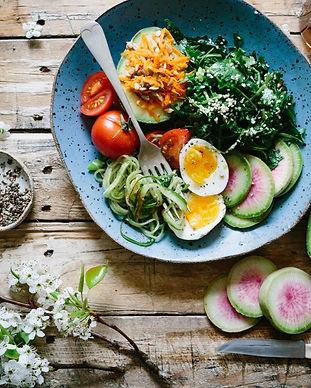 Healthy Menu Creation