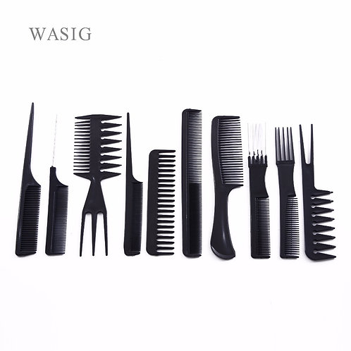 10 Pcs/Set Professional Comb