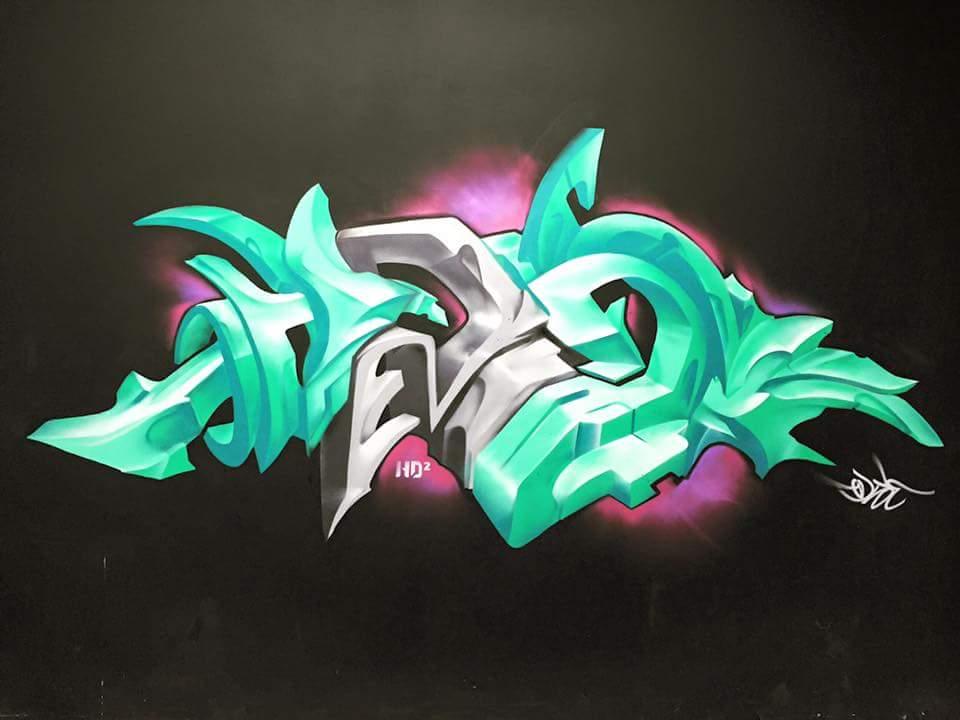 HD2 Graffiti wall