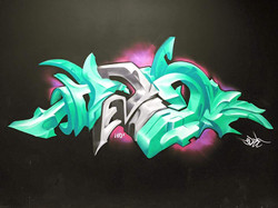 HD2 Graffiti wall