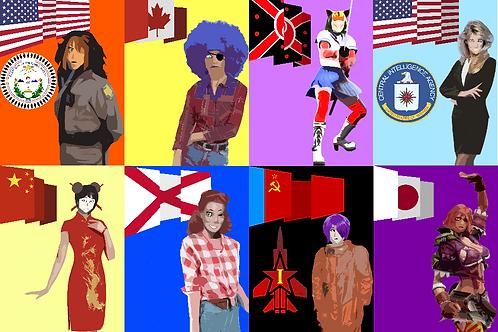 Flag Girls (Season 2)