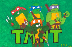 Annelise Triulcio- TMNT