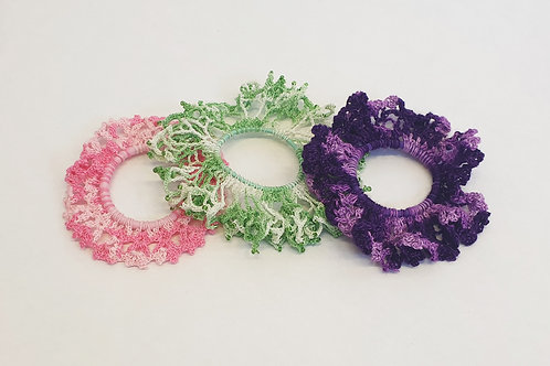 Scrunchie Bundle (Pink, Green, Purple)