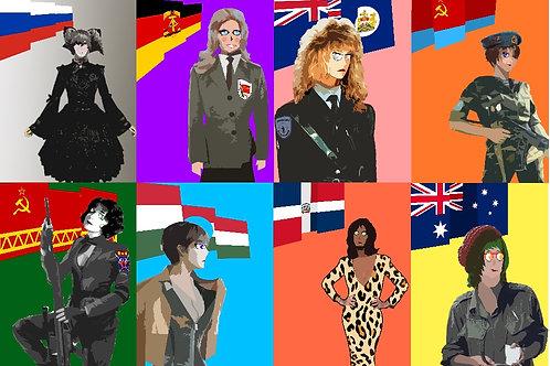 Flag Girls (Season 1)