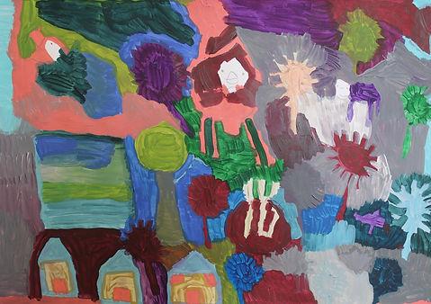 Beach Houses With Flowers A2 (2).JPG