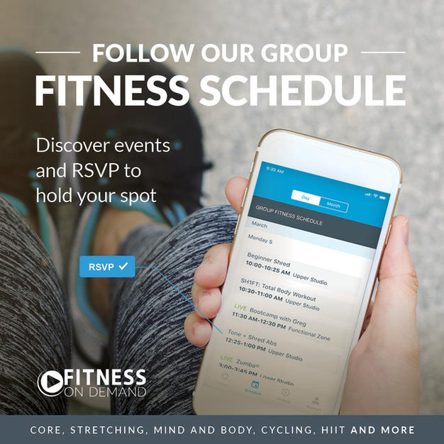 RSVP for Hybrid and Live Classes