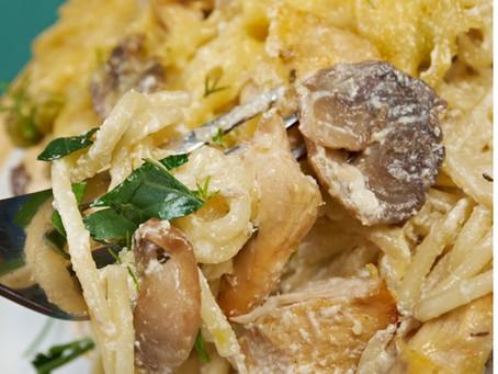 Healthy Chicken Tetrazzini in 30 Minutes