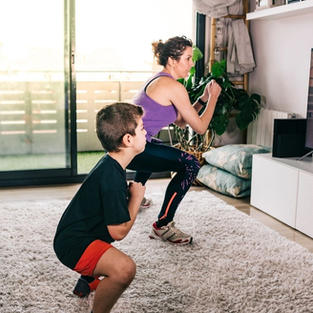 Turn your Living Room into PE