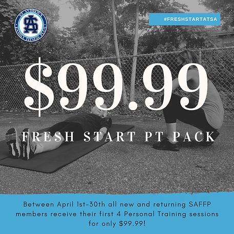 Fresh Start PT Pack Fresh Start Campaign