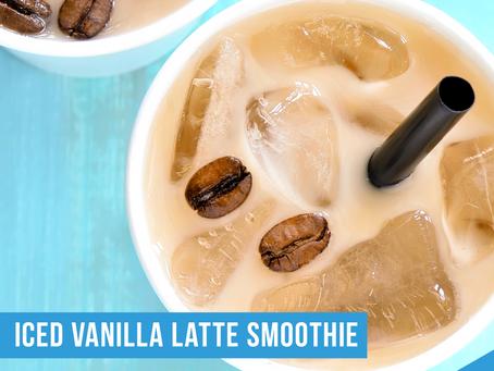 Iced Vanilla Latte Smoothie