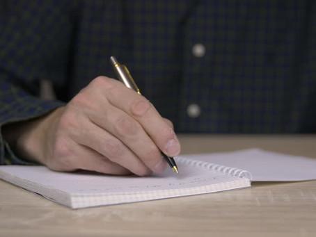 "Writing a ""Manifesto Of Life"""