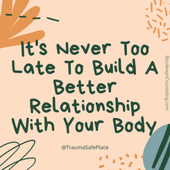 It's Never Too Late To Build A Better Re