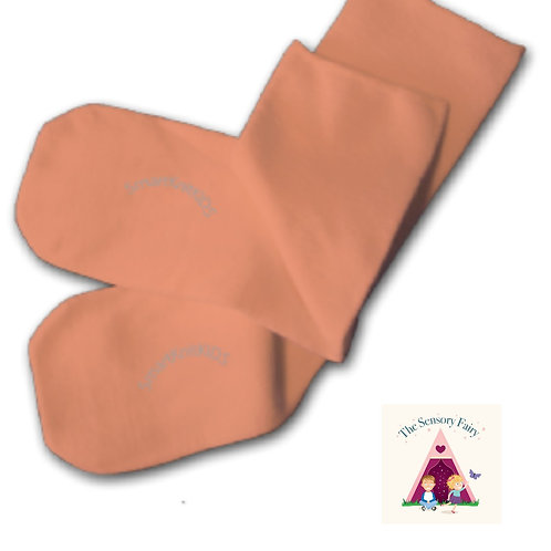 Absolutely Seamless Socks - Peach