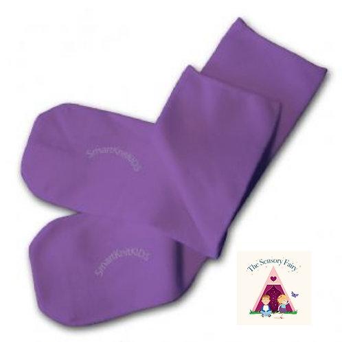 Absolutely Seamless Socks - Purple