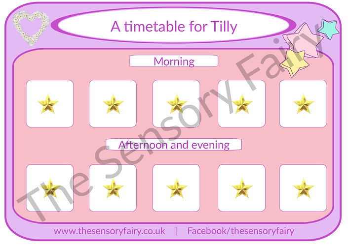Personalised Visual Timetables