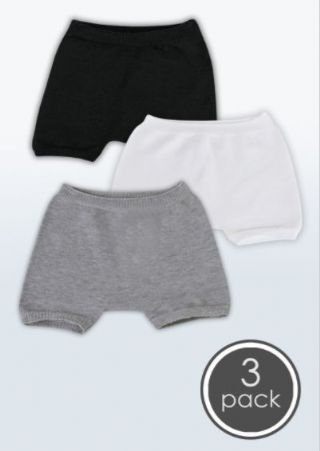 3 Pairs SmartKnitKIDS Seamless Undies for Boys