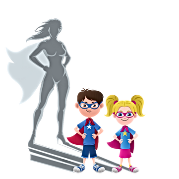 SuperPower Mums with SuperPower Kids Gro