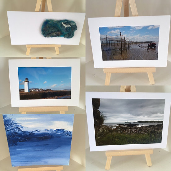 Scottish Seascapes - 5 card pack