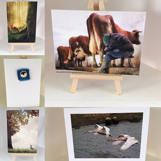 Dumfries and Galloway Animal art cards