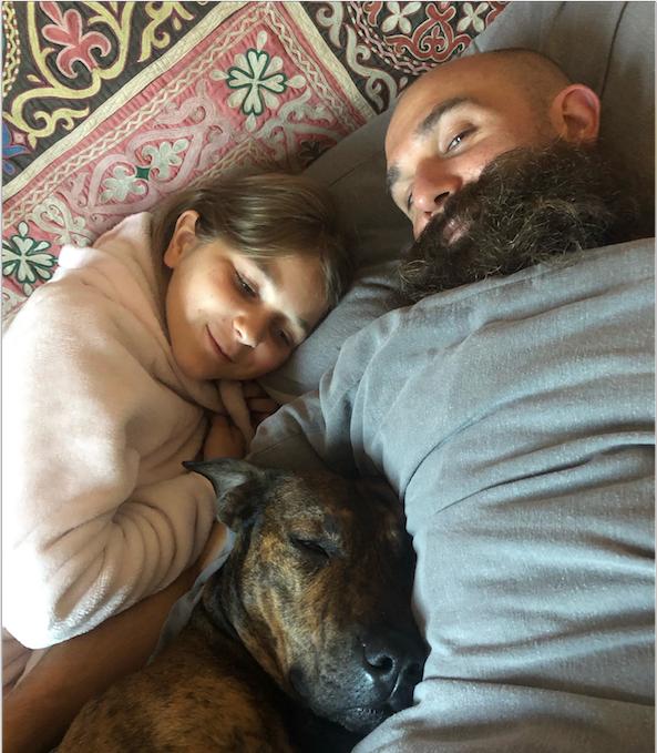 Sleepy Dog anf family