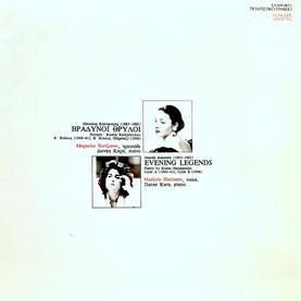 """Manolis Kalomiris: """"Evening Legends"""" Song Cycles A & B"""