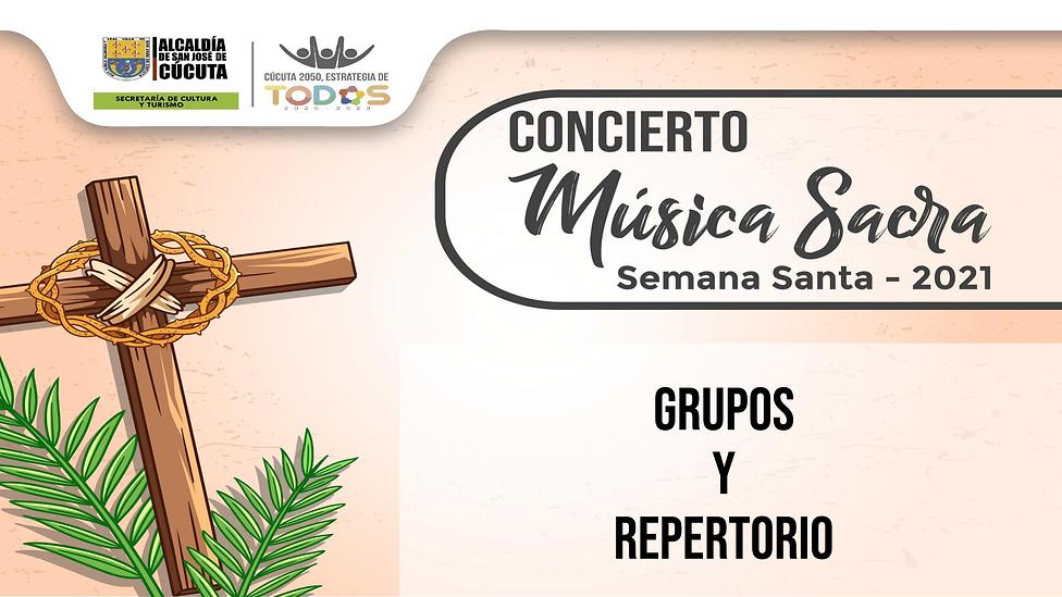 CONCIERTO MÚSICA SACRA GRUPOS Y REPETORI