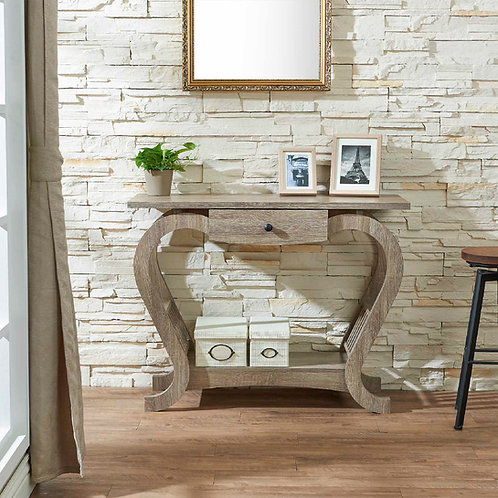 Heart Curve Console Table