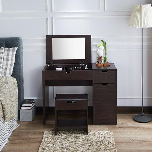 Wooden Veneer Vanity Table
