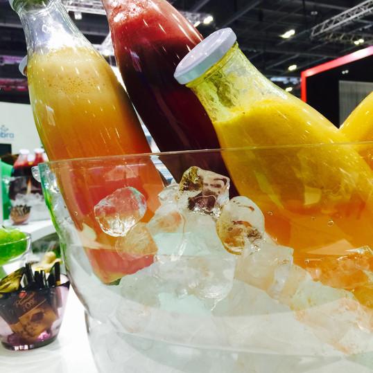 Fresh Juice on Ice