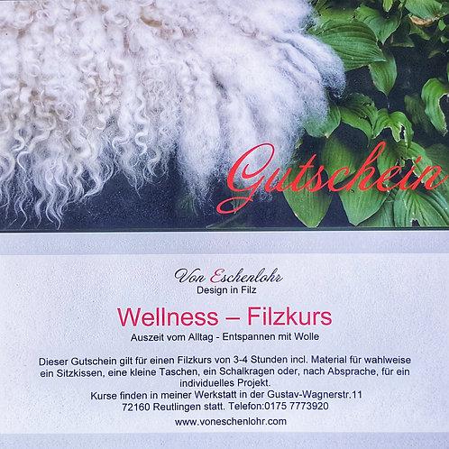 """Gutschein """"Wellness Filzkurs"""""""