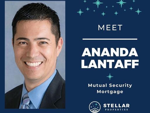 Stellar Superstars...Meet Ananda Lantaff of Mutual Security Mortgage