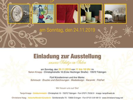 Schätze im Salon in Tübingen 24.11 ⛄