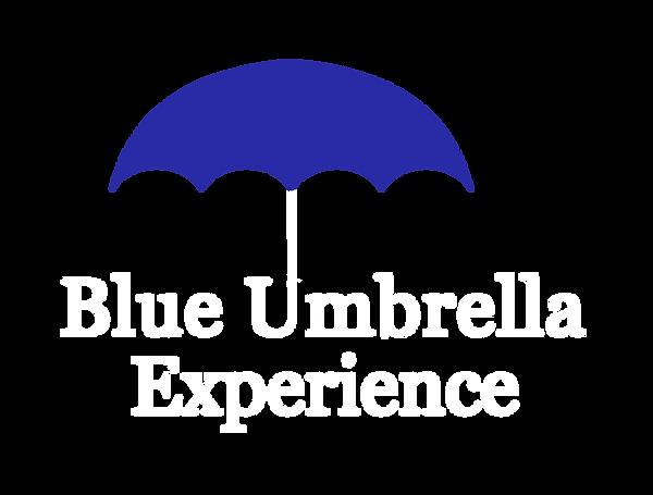 BLUEUMBRELLAEXPERIENCEnotagwhitetext.png