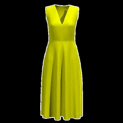Vestito svasato longuette 181120-22