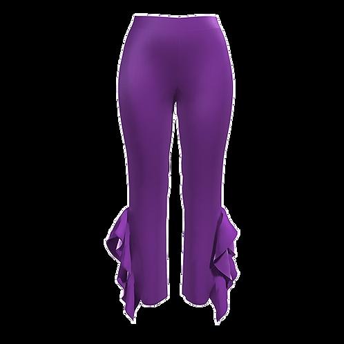 Pantalone con volant 181120-31
