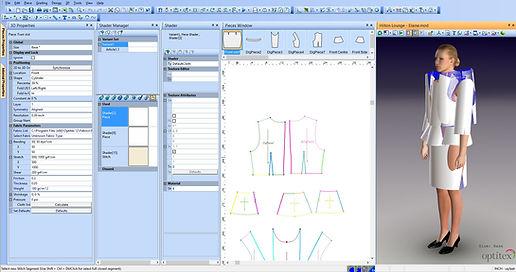 Corso Modellistica CAD 2D & 3D Fashion Atelier