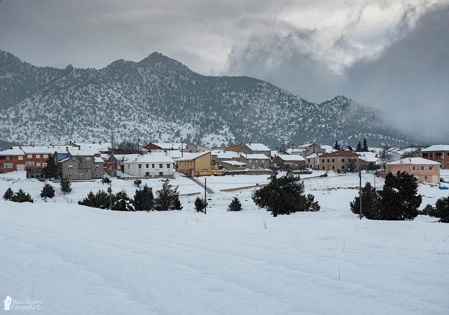 Nieve en Moratalla
