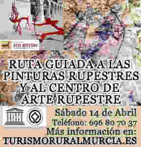 VISITA GUIADA PINTURAS RUPESTRES DE MORATALLA