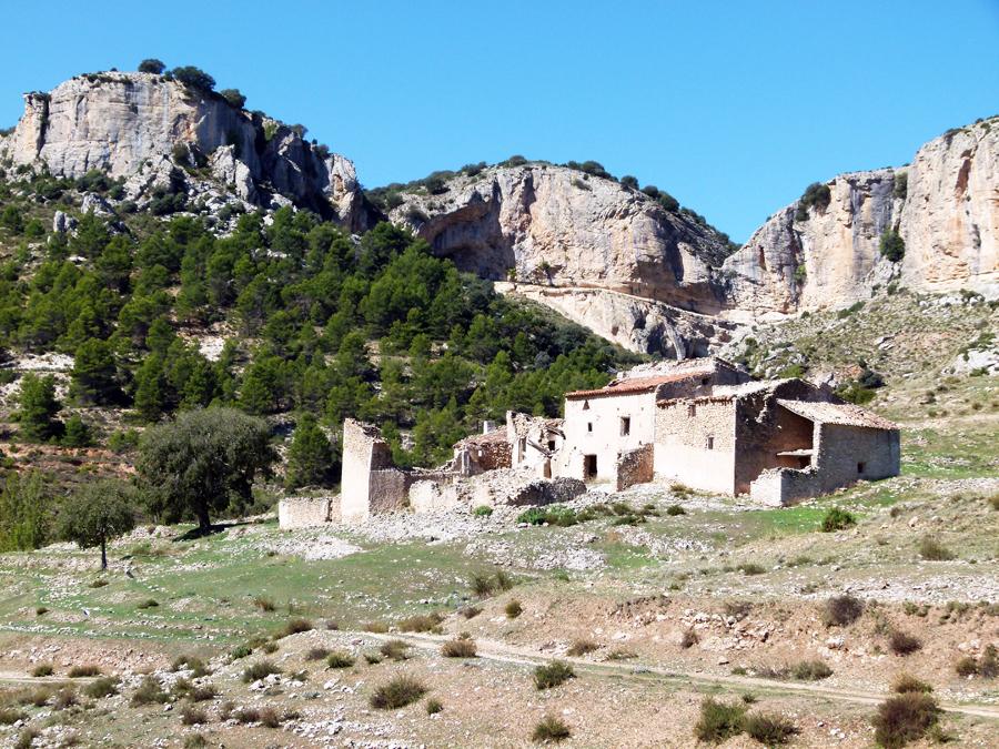 Barranco de Hondares en Moratalla
