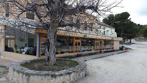 Exterior restaurante La Pastora en Moratalla