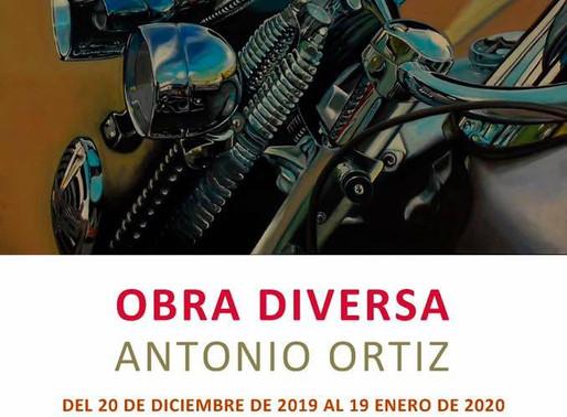 """Exposición """"Obra Diversa"""" de Antonio Ortiz en la Sala del Convento de San Francisco en Moratalla"""