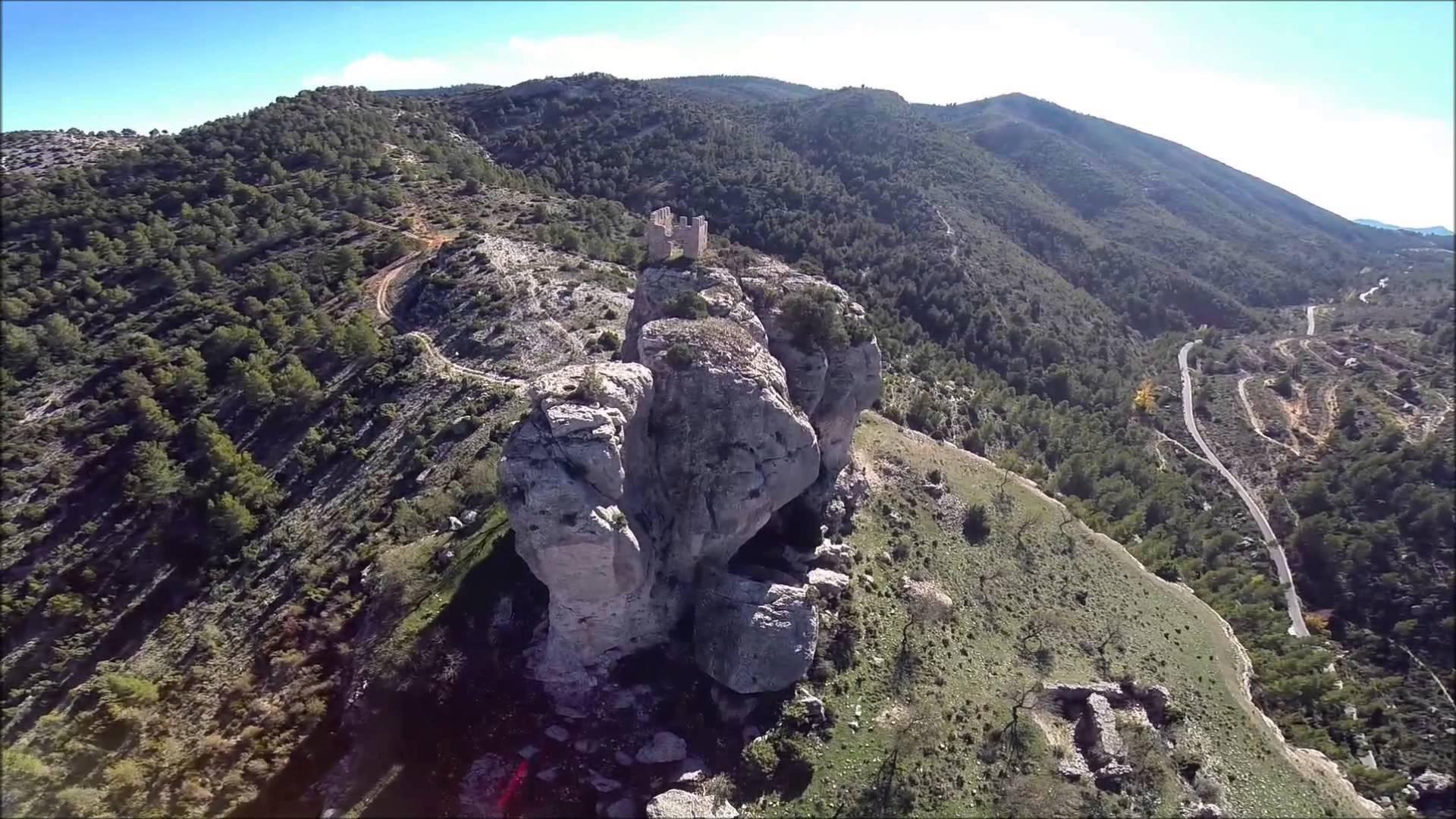 Castillo de Benizar en Moratalla