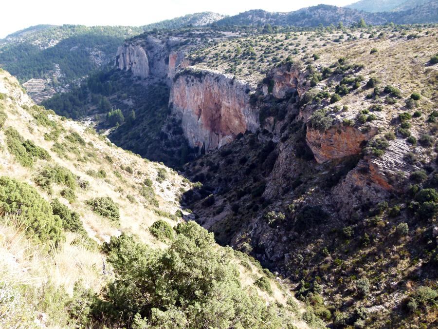 Barranco del Agua en Benizar