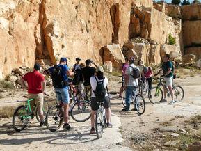 rutas guiadas bicicleta murcia, rutas guiada as bicicleta moratalla