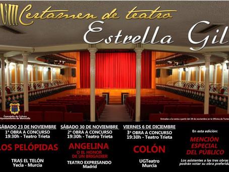 VIII Certamen de Teatro Estrella Gil en Moratalla
