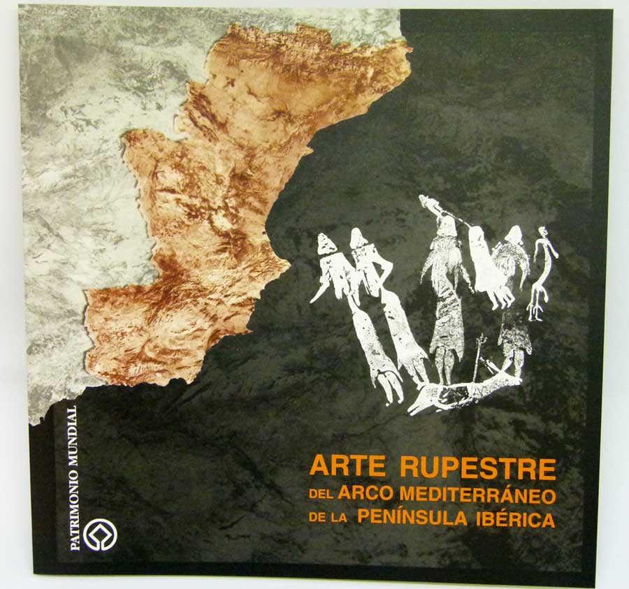 5€-Libro Arte Rupestre Mediterráneo